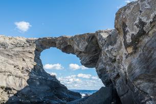 城ヶ島馬の背洞門の素材 [FYI00338813]