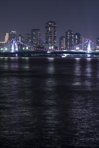 清州橋のライトアップの写真素材 [FYI00338926]