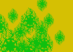 グラフィックパターンの写真素材 [FYI00358566]
