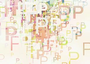 グラフィックパターンの写真素材 [FYI00360110]