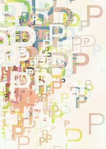 グラフィックパターンの写真素材 [FYI00360120]