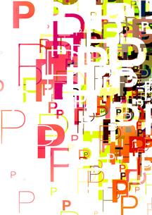 グラフィックパターンの写真素材 [FYI00360137]
