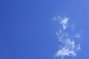 薄い雲の写真素材 [FYI00361130]