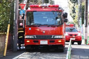 火災発生の写真素材 [FYI00361181]