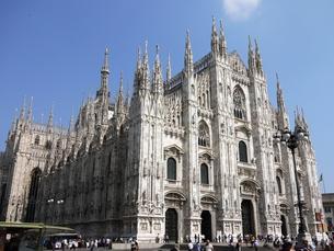 ミラノの大聖堂の写真素材 [FYI00361208]