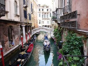ヴェネツィアのゴンドラの写真素材 [FYI00361222]