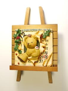 クリスマスカレンダーの素材 [FYI00361231]