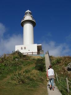 平久保崎の灯台の写真素材 [FYI00361249]