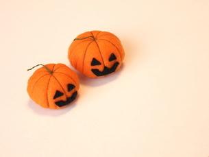 ハロウィかぼちゃ 手作りの写真素材 [FYI00361263]