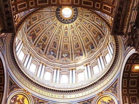 サンピエトロ大聖堂のクーポラの素材 [FYI00361265]