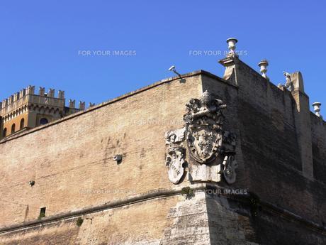 ヴァチカン市国の壁の写真素材 [FYI00361266]