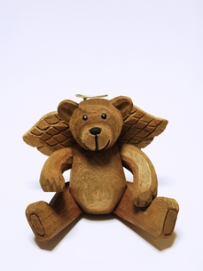 クマの天使の素材 [FYI00361337]