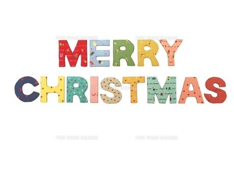 クリスマスのロゴの写真素材 [FYI00361399]