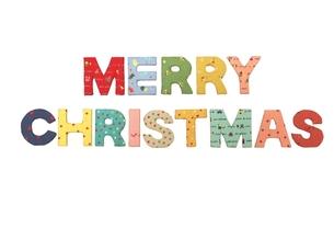 クリスマスのロゴの素材 [FYI00361399]
