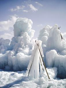 樹氷の写真素材 [FYI00361464]