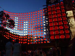 ちょうちん祭りの写真素材 [FYI00361497]
