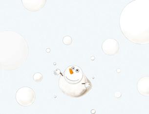 雪だるまの写真素材 [FYI00361499]
