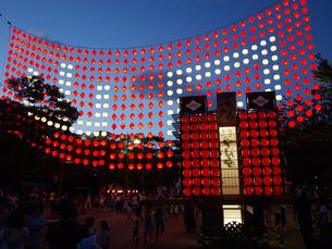 ちょうちん祭りの写真素材 [FYI00361528]
