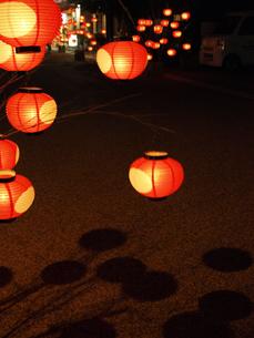 ちょうちん祭りの写真素材 [FYI00361532]