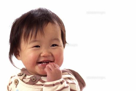 食べる赤ちゃんの写真素材 [FYI00361786]
