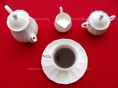 コーヒーセツトの写真素材 [FYI00361934]