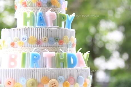 HAPPY BIRTHDAY の写真素材 [FYI00362042]