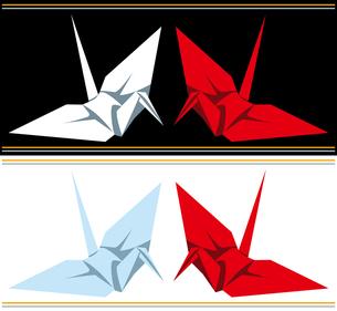 紅白オリヅルの写真素材 [FYI00362136]