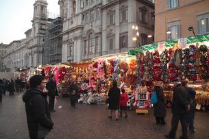 ローマのクリスマスの写真素材 [FYI00362236]
