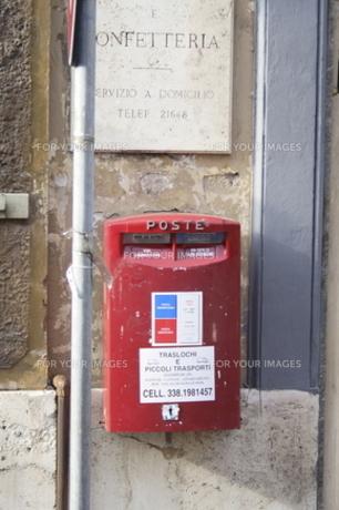 ローマでみつけたポストの素材 [FYI00362259]