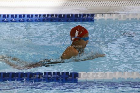 平泳ぎの写真素材 [FYI00362554]