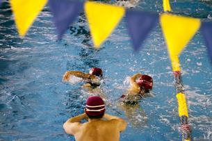 水泳レッスンの写真素材 [FYI00362568]
