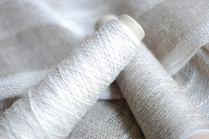 織り糸の写真素材 [FYI00363113]