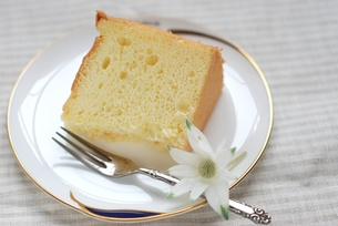シフォンケーキの写真素材 [FYI00363115]