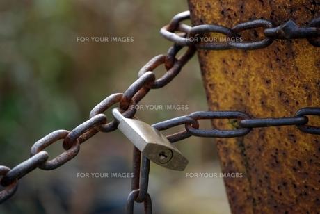 鎖と鍵の素材 [FYI00363297]