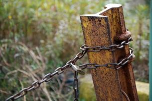 鎖と鍵の写真素材 [FYI00363298]