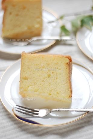 シフォンケーキの写真素材 [FYI00363579]