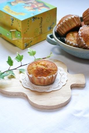 手作りカップケーキの写真素材 [FYI00364042]