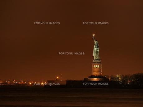 自由の女神像の写真素材 [FYI00364153]