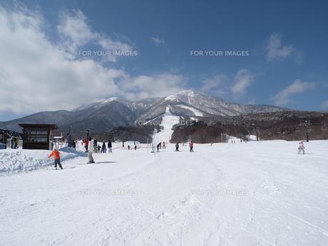 スキー場の写真素材 [FYI00364188]