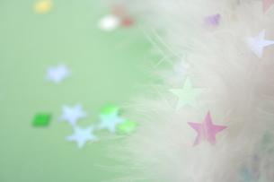 ふわふわと星の素材 [FYI00364386]
