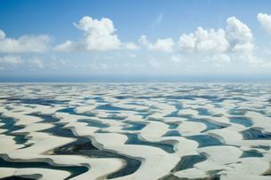 ブラジル東部の消える湖の素材 [FYI00364495]
