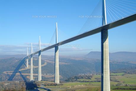 世界一高い橋・ミヨー橋の素材 [FYI00364668]
