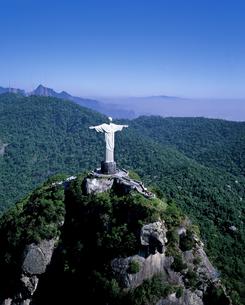 コルコバード丘のキリスト像の写真素材 [FYI00364924]