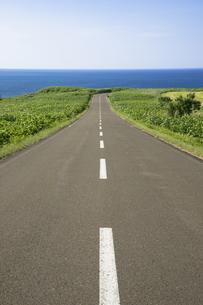 オホーツク海への道の素材 [FYI00365086]