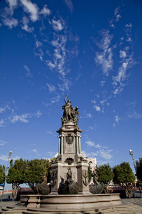 マナウスのセバスチャン広場の写真素材 [FYI00365335]