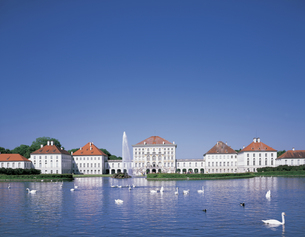 ミュンヘンのニンフェンブルク城の写真素材 [FYI00365370]