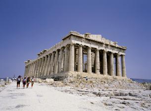 アテネのパルテノン神殿の写真素材 [FYI00365503]