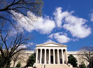 ワシントンDCのナショナルギャラリー西館の写真素材 [FYI00365693]