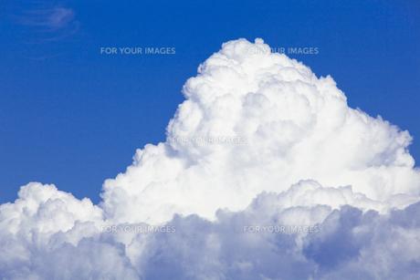 アマゾン川上空の雲の素材 [FYI00365762]