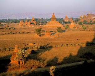 ミャンマーのオールドバガン遺跡の写真素材 [FYI00365997]